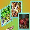Big forest animals puzzle