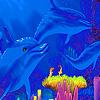 Blue ocean animals puzzle