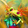 Farm frog slide puzzle
