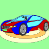 Kid's coloring: Future car